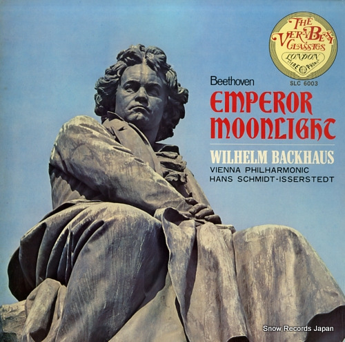 backhaus wilhelm beethoven; emperor moonlight