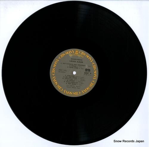 AMELING, ELLY mendelssohn lieder album 28AC1407 - disc