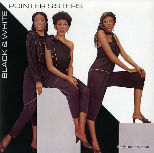 POINTER SISTERS - black & white - LP