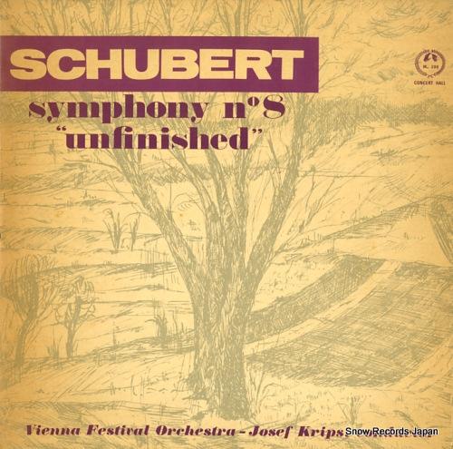 KRIPS, JOSEF schbert; symphony no.8