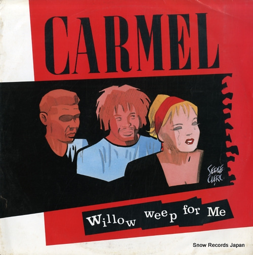 CARMEL willow weep for me LONX38 - front cover