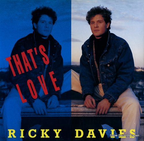 DAVIES, RICKY that's love ARD1077 - front cover
