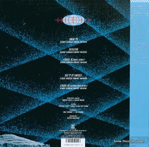 HUBERT KAH angel 07 20AP3091 - back cover