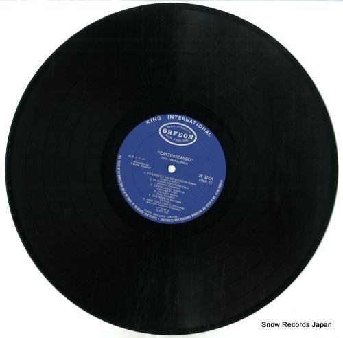 TRIO TAMAULIPECO canturreando IY1004 - disc