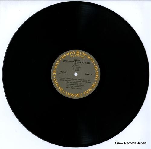 WALTER, BRUNO mozart; requiem 15AC662 - disc