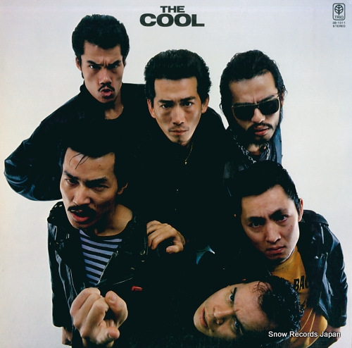 COOLS ROCKABILLY CLUB the cool 3B-1011 - front cover