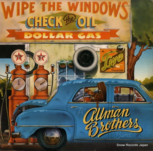 ALLMAN BROTHERS BAND, THE wipe the windows check the oil dollar gas 2CX0177 - front cover