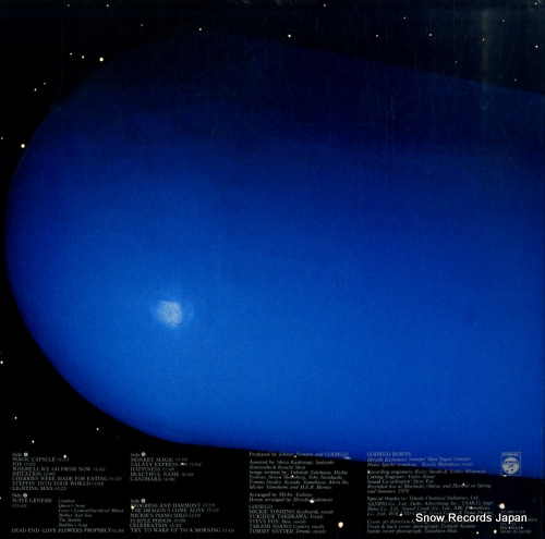 GODIEGO magic capsule YZ-5001-2-AX - back cover