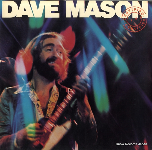 MASON, DAVE certified live PG34174 - front cover