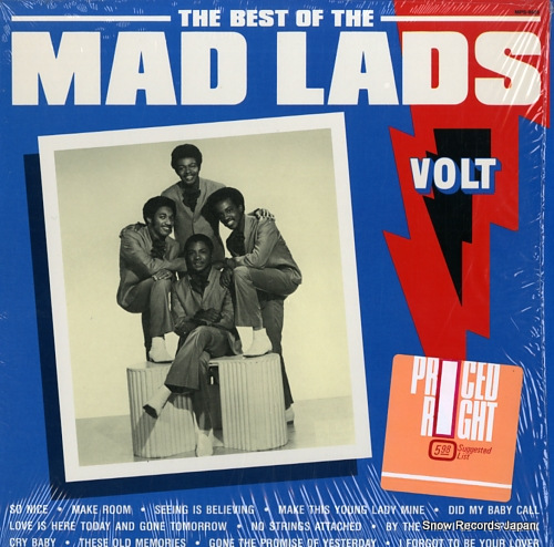 MAD LADS, THE the best of the mad lads MPS-8525 - front cover