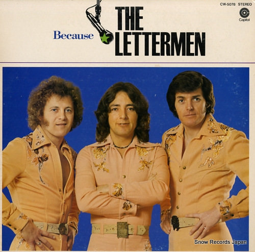 LETTERMEN, THE because CW-5078 - front cover
