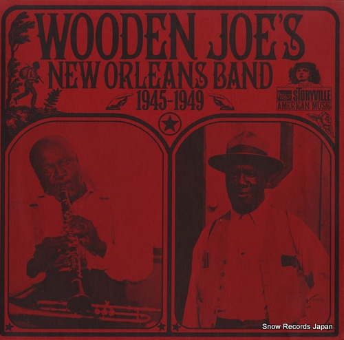 WOODEN JOE'S NEW ORLEANS BAND 1945-1949 670204 - front cover