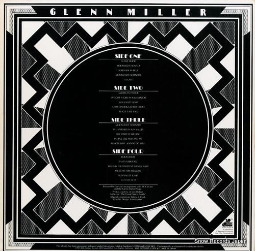 MILLER, GLENN remember glenn GW285-6 - back cover