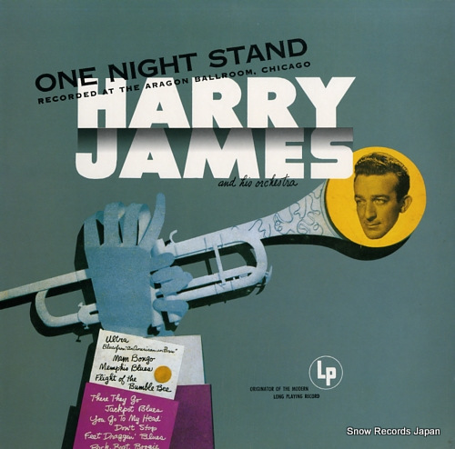 JAMES, HARRY one night stand 20AP1445 - front cover