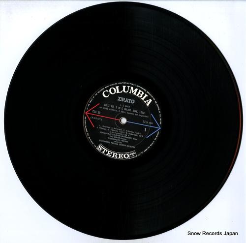 PAILLARD, JEAN-FRANCOIS bach; 5 suites for orchestra (complete) CSS-29-30 - disc