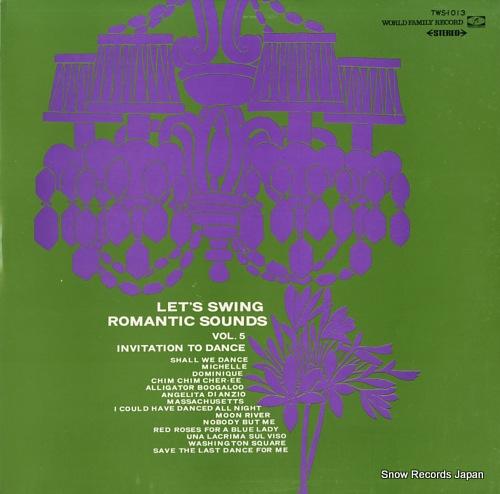 OKUDA, MUNEHIRO invitation to dance TWS-1013 - front cover
