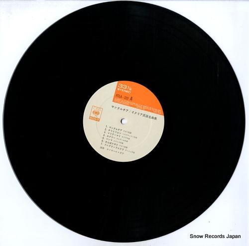 BEAU, CONCERT italian folk songs FCLA-223 - disc