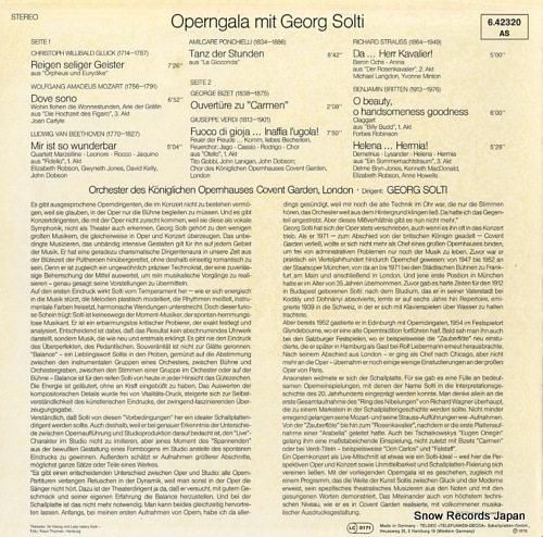 SOLTI, GEORG operngala mit georg solti 6.42320 - back cover