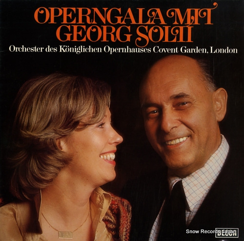 SOLTI, GEORG operngala mit georg solti 6.42320 - front cover