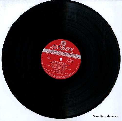 BONYNGE, RICHARD french opera overtures SLC2244 - disc