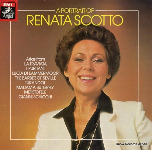 SCOTTO, RENATA a portrait of renata scotto ASD4022 - front cover