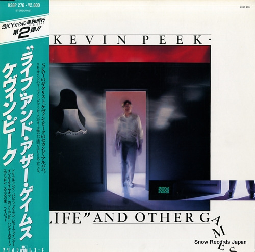 PEEK, KEVIN life and other games K28P276 - front cover