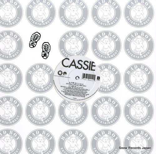 CASSIE me & u remixes 0-94411 - back cover