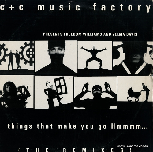 C + C MUSIC FACTORY things that make you go hmmmm... 44-73934 - front cover