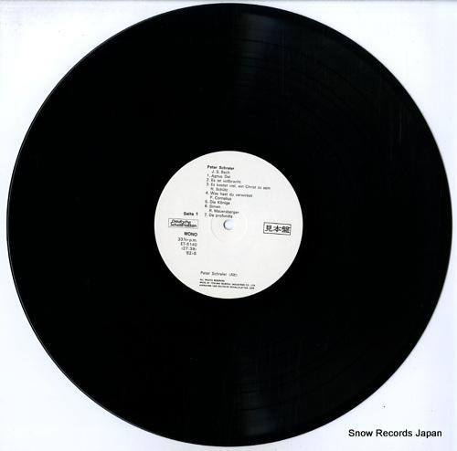 SCHREIER, PETER vom knabenalt des dresden kreuzchores zum lyrischen tenor ET-5140 - disc