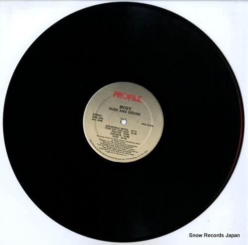 MOEV dusk and desire PRO-1210 - disc