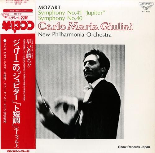 GIULINI, CARLO MARIA mozart; symphony no.41