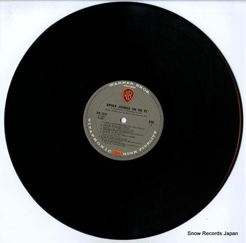 JONES, SPIKE spike jones in hi fi WB-1018 - disc