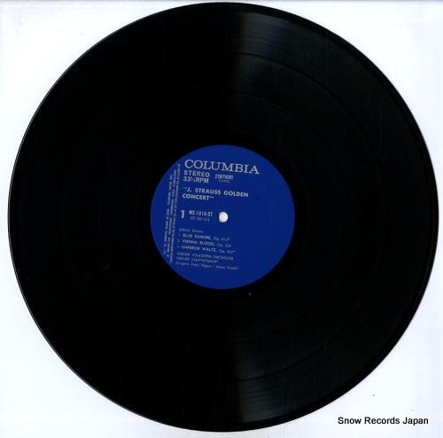 HAGEN, HANS / ANTON PAULIK johann strauss golden concert MS-1010-ST - disc