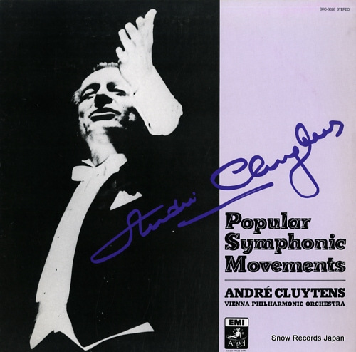 CLUYTENS, ANDRE popular symphonic movements BRC-8028 - front cover