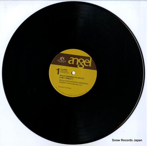KARAJAN, HERBERT VON mozart; the last symphonies, vol.1 S-36770 - disc