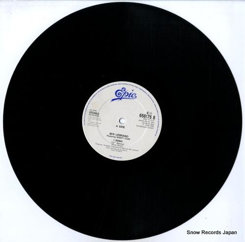 LIEBRAND, BEN i wish 656175-8 - disc