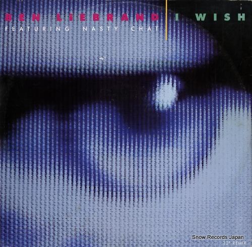 LIEBRAND, BEN i wish 656175-8 - front cover