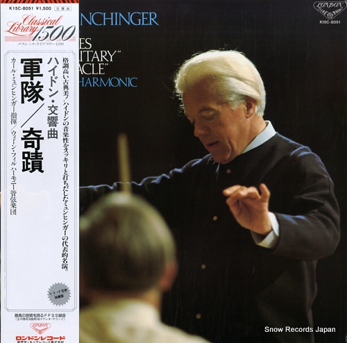MUNCHINGER, KARL haydn; symphonies no.100