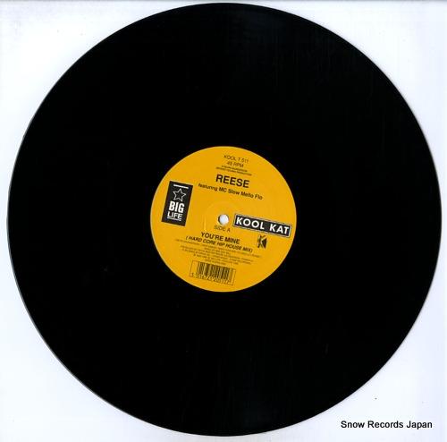 REESE you're mine KOOLT511 - disc
