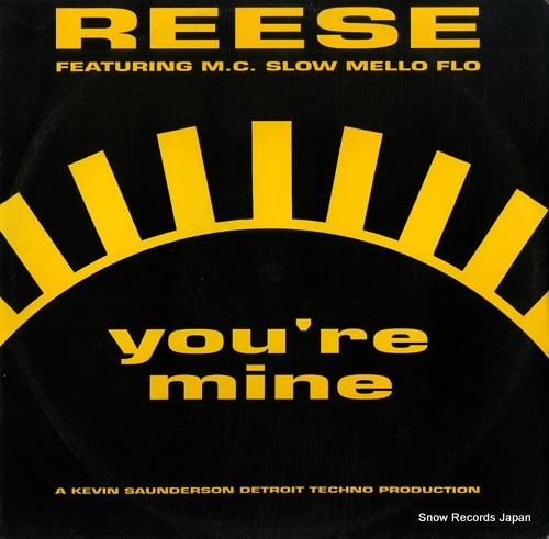 REESE you're mine KOOLT511 - front cover