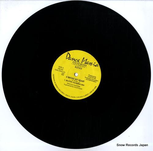 ROSS, DAVE u broke my heart DM023 - disc