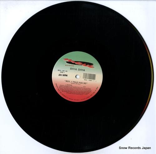DIVA DIVA boy, i told you so MOV-901 - disc