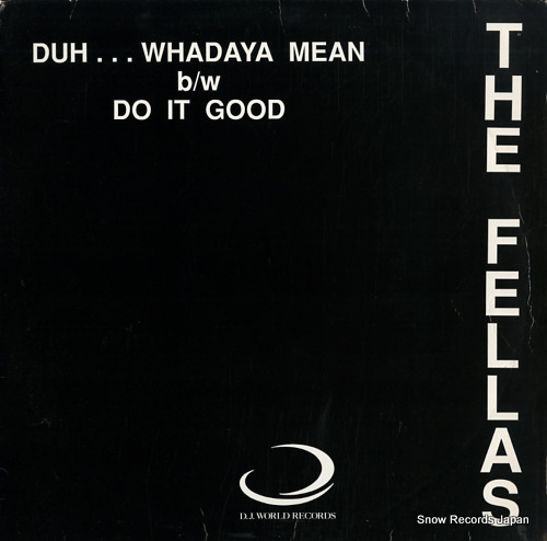 PINKY, THE duh...whadaya mean / do it good DJW103 - front cover