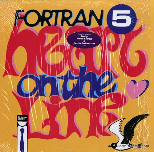 FORTRAN 5 heart on the line 0-66491 - front cover