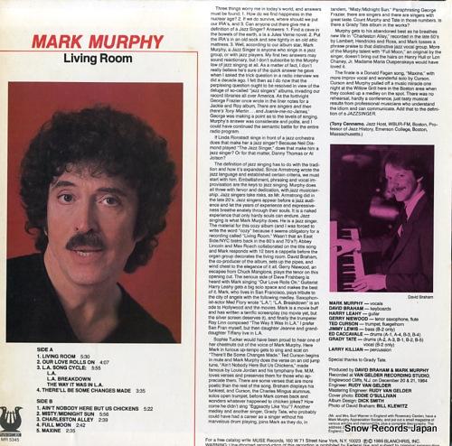 MURPHY, MARK living room MR5345 - back cover