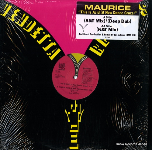 MAURICE this is acid (a new dance craze) VE7016 - front cover