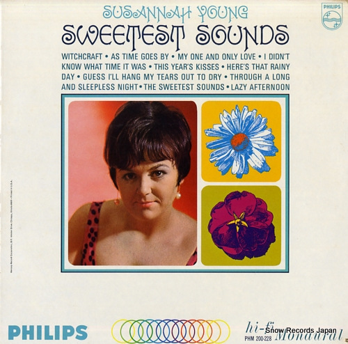 YOUNG, SUSANNAH the sweetest sounds PHM200-228 - front cover