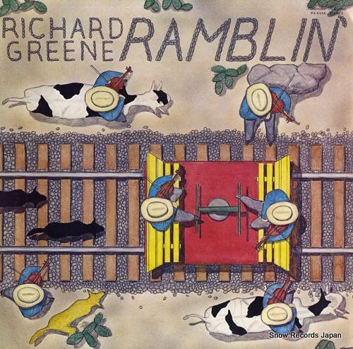 GREENE, RICHARD ramblin' PA-6348 - front cover