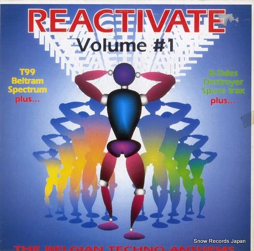 V/A reactivate volume #1 REACTLP1