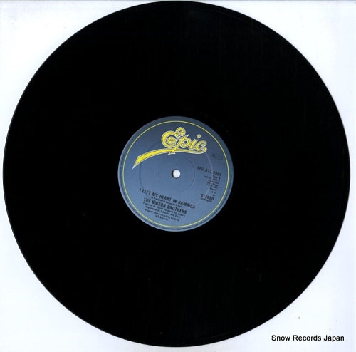 GIBSON BROTHERS i left my heart in jamaica EPCA132084 - disc